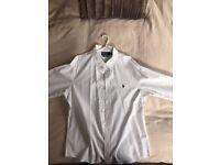 White Long Sleeve Ralph Lauren Shirt