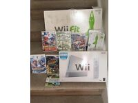 Nintendo wii and wii fit