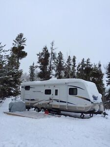 Camper with lake lot by Tobin lake for sale!!