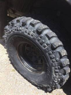"""36"""" Simex Centipedes 4WD 4X4 Mud Tyres 60% Tread Swap for 35s"""