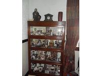 Doll's House in Oak Cabinet