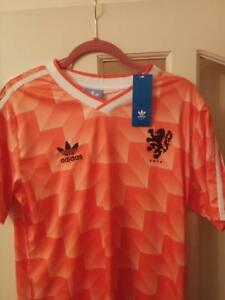 Holland Netherlands 1988 home retro football vintage shirt (Small to XL)