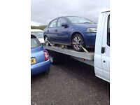 Scrap cars and vans wanted same day payment