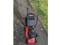 Power devil petrol lawn mower