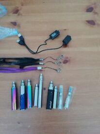 Assorted Vape Pen Items