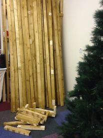 Load of Timber for sale £2 a length or job lot !!!