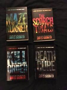 The Maze Runner Series ($10 each or $30 for all 4 books) Cudgen Tweed Heads Area Preview