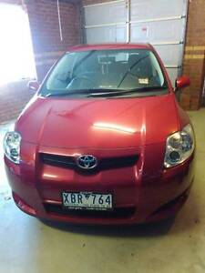 2009 Toyota Corolla Hatchback Lakes Entrance East Gippsland Preview