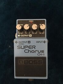 Boss CH-1 Chorus Pedal For Sale