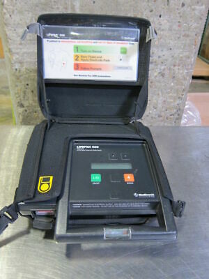 Medtronic Lifepak 500 Aed In Carrying Case 3011790-001520
