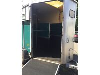 Ifor Williams HB510 Horse Trailer in Green. 2002 year of manufacture. Stalled for 2x 17.2hh Horses.