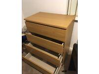 Malm Ikea Chester Drawer