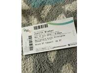 Justin Bieber platinum tickets Birmingham