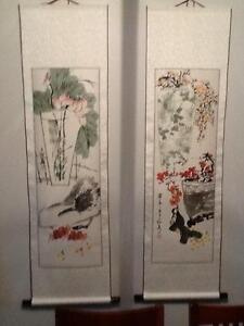 Beautiful Chinese art scrolls Wanneroo Wanneroo Area Preview