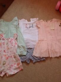Next baby girl bundle of summer clothes. All 6-9 months
