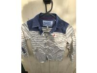 Joules boys cotton shirt