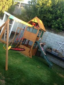 Kids outdoor cubby, forte, swings, climbing Mudgeeraba Gold Coast South Preview
