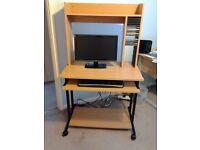 computer work station desk