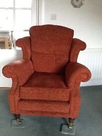 Wade Hollinwell Sofa and Chair, excellent condition,