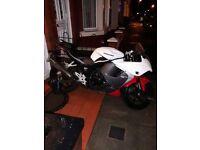 Hyosung gt 125cc R 2015 low milleage.swap.px