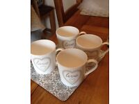 Four Next Mugs Collection from REDHOU