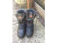 Tree hog chainsaw boots uk 10