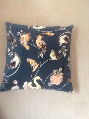 """House Of Hackney Flight Of Fancy VelvetCushion COMPLETE Duck Feather Pad 18""""x18"""""""
