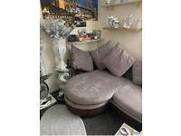 corner sofa swivel cuddle chair