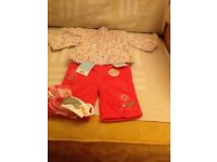 Brand new baby girls clothes 0-3 months.