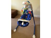 Fisher Price - Under the sea cradle and swing