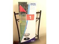 Brand new Chip and Putt Flagstick set, ideal for practise in garden