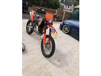 KTM 200 exc enduro mx bike