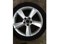 Alloy wheel 16 inch fit seat vw vehicles
