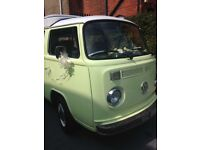 Vw Camper Wedding or Events Hire
