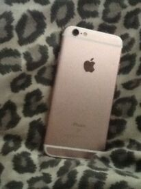 iPhone 6s rese gold