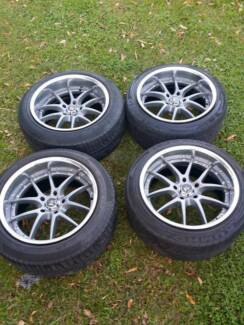 Work VSss rims wheels 17x9.5 17x10 Suit 5x114.3 big dish Brisbane City Brisbane North West Preview