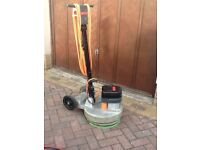 Floor polisher / scubber / driveway cleaner