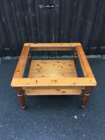 Pine Coffee Table ( Can Deliver )
