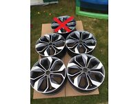 4 x Genuine Renault 18 inch alloy wheels 5x114,3