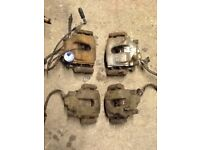 BMW e46 brake calipers and carriers