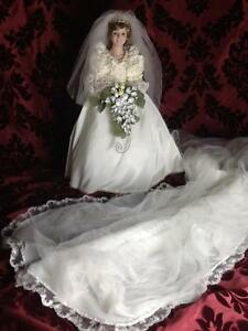 Princess Diana Bride Doll, Danbury Mint
