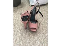 Pink New Look Shoes, Size 6
