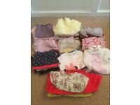 Girls 0-3 baby clothes