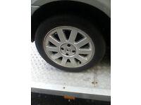 Renault Megane alloys weels and tyres