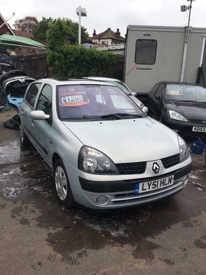 ✅ 2001 51 Renault Clio 1.2 16v Expression + 5 door ✅