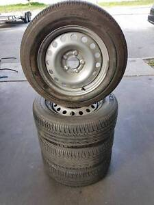 16 Inch Police Pursuit Wheels And Tyres Suit VE VF Commodore Bayswater Bayswater Area Preview