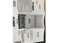 Michael Buble 4 GOLD Circle Tickets