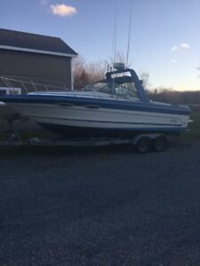 1988 searay 250 with trailer