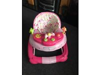 Mothercare baby walker and rocker