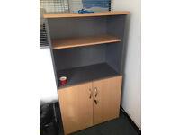 Lockable wooden cabinet